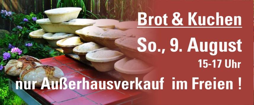 Außerhausverkauf: Brot & Kuchen